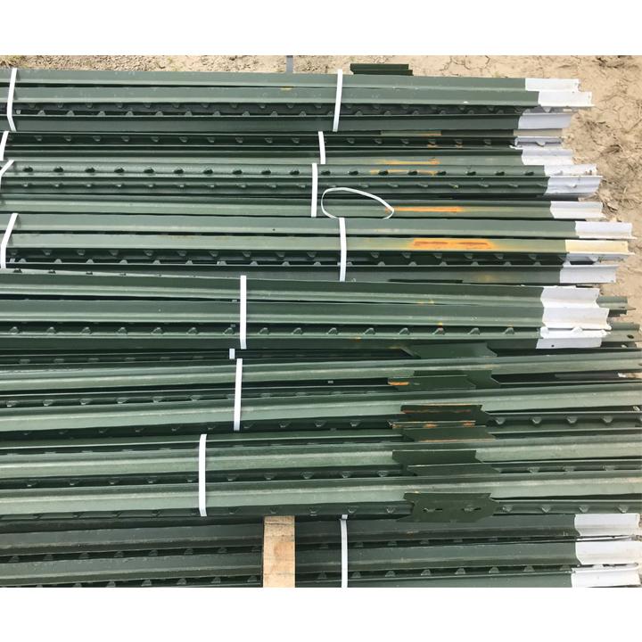 Green Metal T Posts