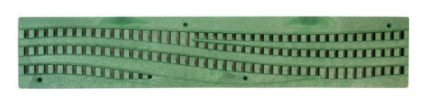 Spee-D Channel Grate, Decorative Wave